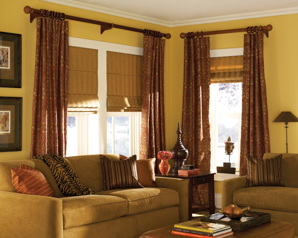 fineshade fabric roman shade finecraft window fashions. Black Bedroom Furniture Sets. Home Design Ideas